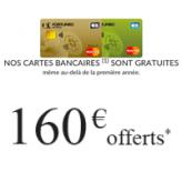 FORTUNEO : 160€ OFFERTS + 1 VELO À GAGNER pour toute ouverture de compte bancaire