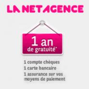LA NET AGENCE : Le compte courant gratuit et la carte bancaire gratuite pendant 1 an