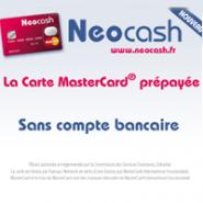 NEOCASH : La carte MasterCard prépayée Neocash