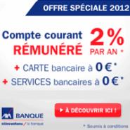 AXA BANQUE : Compte courant rémunéré à 2% + la carte bancaire gratuite !