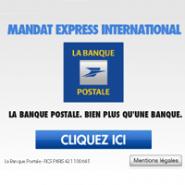 le mandat express international de la banque postale maintenant en ligne cartes bancaires. Black Bedroom Furniture Sets. Home Design Ideas