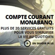 Du nouveau chez Monabanq sur le compte courant et le livret épargne