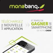 Participez au jeu «Application Mobile» avec MONABANQ