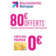 Un compte bancaire économique avec la carte bancaire gratuite et une prime de 80€