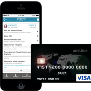 ANYTIME : la carte VISA sans banque