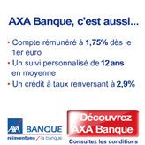 axa banque un compte courant qui vous rapporte et la carte bancaire gratuite cartes. Black Bedroom Furniture Sets. Home Design Ideas