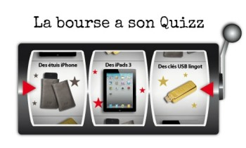 BforBank jeu Trader quizz Facebook