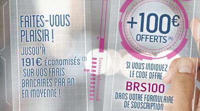 Boursorama : Prime jusqu'à 100€ offerts pour l'ouverture d'un compte bancaire individuel ou joint