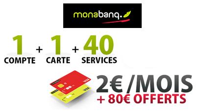 Le compte TOUT COMPRIS à 2€ seulement + 80€ offerts !